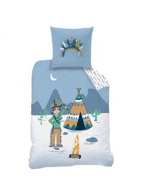 Matt & Rose Duvet cover Petit Indien 140 x 200 + pillowcase 63x63 cm