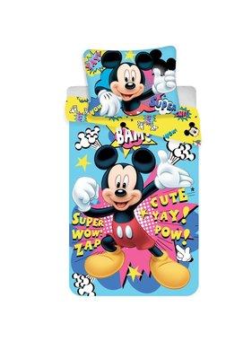 Disney Mickey Mouse Dekbedovertrek 140x200+70x90cm - Polyester