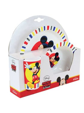 Disney Mickey Mouse Ontbijtsetje 3 delig