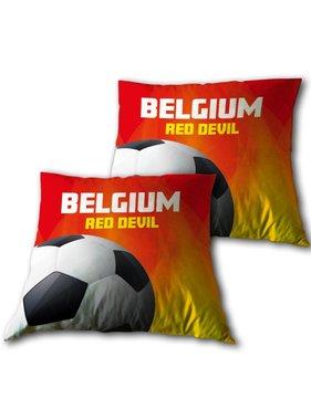 Red Devils Throw pillow Belgium 33 x 33 cm