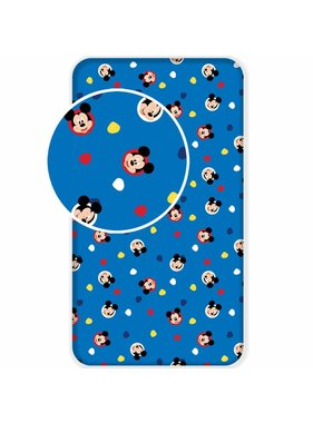 Disney Mickey Mouse Fitted sheet Hello 90 x 200 cm
