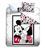 Disney Mickey Mouse Kiss - Duvet cover - Double - 200 x 200 cm - Multi