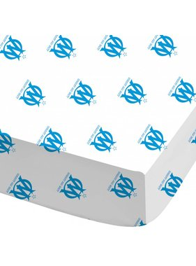 Olympique Marseille Fitted sheet 1899 90x200cm Polycotton