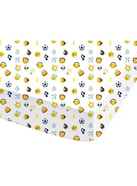 Smiley World Fitted sheet Mood 140x200cm