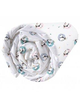 Matt & Rose Fitted sheet Panda 90x200cm