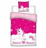 Unicorn Dream - Duvet cover - Single - 140 x 200 cm - Pink