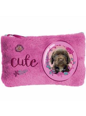 Rachael Hale Cute puppy Pluche etui 12,7x20cm