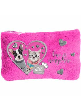 Studio Pets Plush case - 12.7 x 20 cm