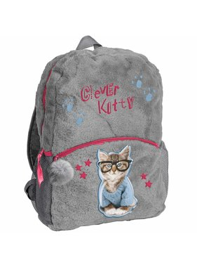 Rachael Hale Clever Kitty backpack plush 42x30x9cm