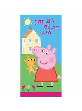 Peppa Pig Strandlaken Sunny Days 70x140cm