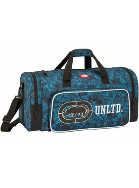 Ecko Unltd Sports bag Blue Design 55 cm