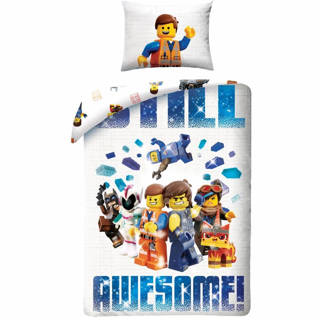 Lego Movie 2 - Dekbedovertrek - 140 x 200 cm - Multi