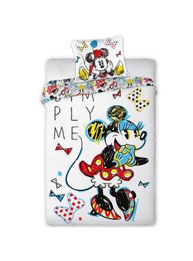 Disney Minnie Mouse Dekbedovertrek Simply Me 140x200 cm