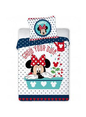 Disney Minnie Mouse BABY dekbedovertrek grow your own 100x135cm + 40x60cm 100% katoen