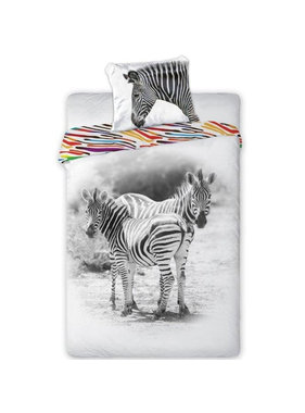 Animal Pictures Duvet cover Zebra 140x200 cm