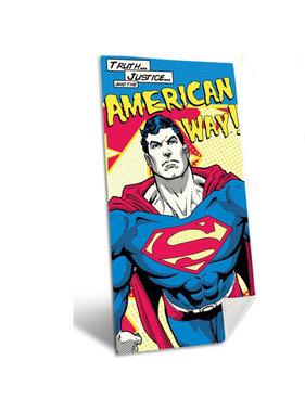 Superman American Way beach towel 140x70cm