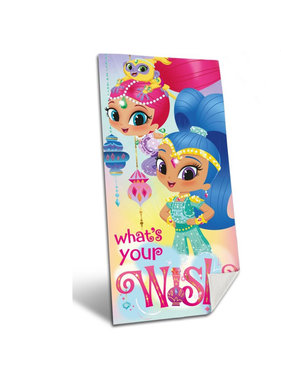 Shimmer And Shine Beach towel What's your wish?