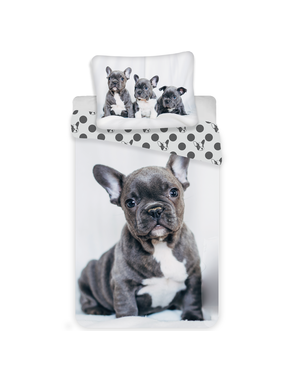 Animal Pictures Duvet cover Bulldog 140x200 cm