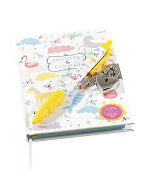 Floss & Rock Diary of Mermaid including lock and scent pen