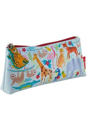 Floss & Rock Jungle pouch 22 x 11 x 4 cm