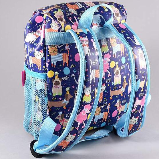 Floss & Rock Pets - toddler / toddler backpack - 30 cm - Blue