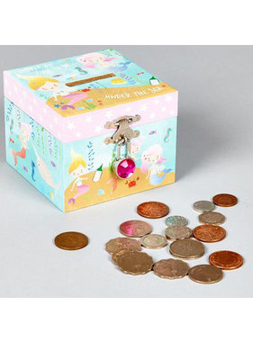 Floss & Rock Money box Mermaid with diamond clasp