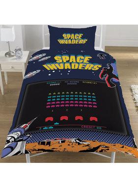 Space Invaders Dekbedovertrek  Coin Op 135x200 cm