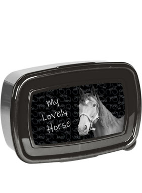 Animal Pictures Lovely Horse Lunch box