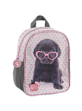 Studio Pets Puppy Glasses Toddler Backpack 28 cm