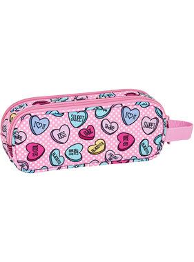 BlackFit8 Sweet heart etui 21 x 8 cm
