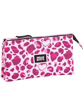 Hello Kitty Leopard pouch  22 cm
