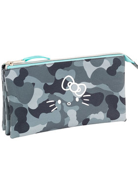 Hello Kitty Camouflage etui 22 cm