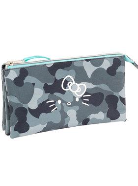 Hello Kitty Camouflage pencil case 22 cm