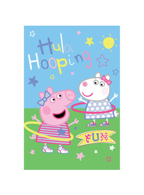 Peppa Pig Fleece plaid Fun 100x150cm