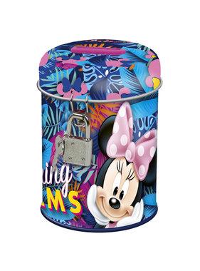 Disney Minnie Mouse Spaarpot  Spring Palms 11.5 cm