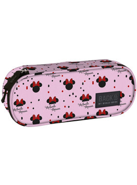 Disney Minnie Mouse Etui Roze 23 cm