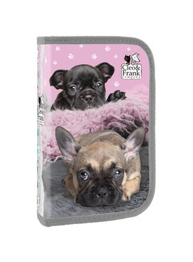 Cleo & Frank Stuffed Pouch Dogs