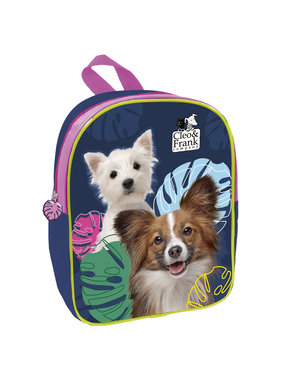 Cleo & Frank Toddler / Toddler Backpack Dogs