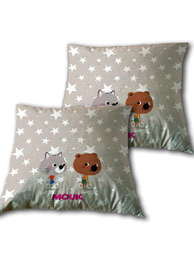 Mouk Cushion Friends 35x35cm