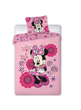 Disney Minnie Mouse Dekbedovertrek polyester 140x200 cm