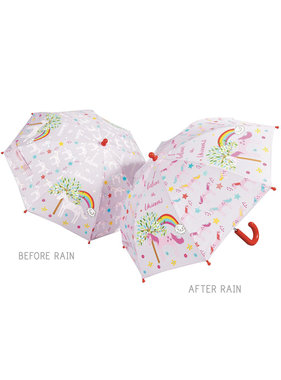 Floss & Rock Kleurveranderende Paraplu Unicorn