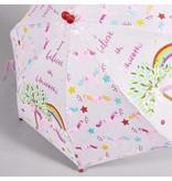 Floss & Rock Unicorn - Paraplu - Verandert van kleur!