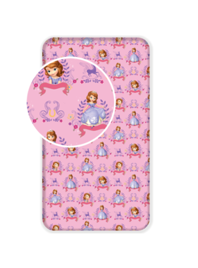 Disney Sofia The First Fitted sheet Magic 90x200 cm