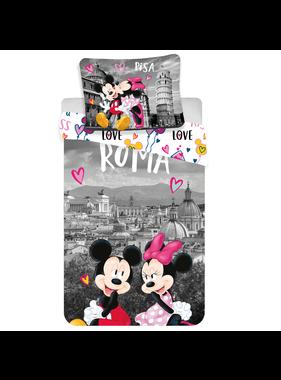 Disney Minnie Mouse Dekbedovertrek Roma Love 140x200 cm