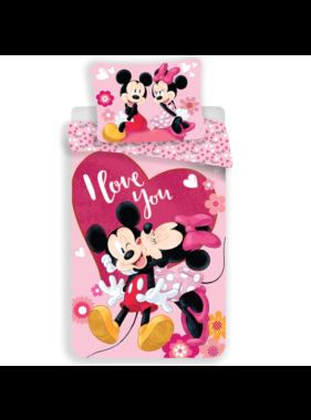 Disney Minnie Mouse Duvet cover I Love You, 140 x 200 cm