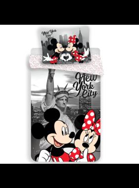 Disney Minnie Mouse Dekbedovertek New York 140 x 200 cm