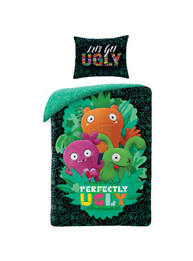 Ugly Dolls Duvet cover Perfectly Ugly 140x200cm + 70x90cm 100% cotton