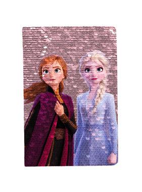 Disney Frozen Notitieboekje A5 magische pailletten