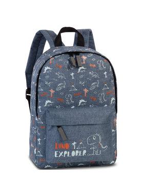 Fabrizio Dino Explorer Denim backpack 36 cm