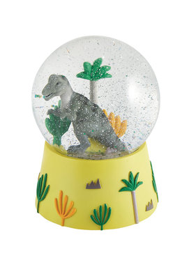 Floss & Rock Snow Globe Music Dino Large